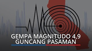 Gempa Magnitudo 4,9 Guncang Pasaman, Getaran Terasa di Padang hingga Bukittinggi