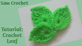 DIY Tutorial:how To Make Crochet Leaf