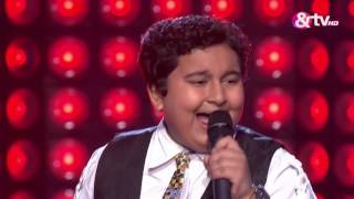 Dhroon Tickoo - Blind Audition - Episode 1 - July 23, 2016 - The Voice India Kids