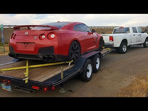 Totaled Nissan GTR Rebuild - Part 1