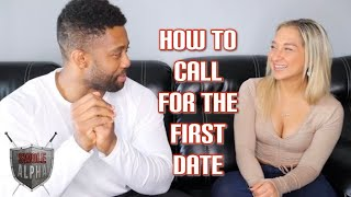 How to call a girl for the first date
