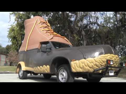 These Guys Put A Truck Into A Boot