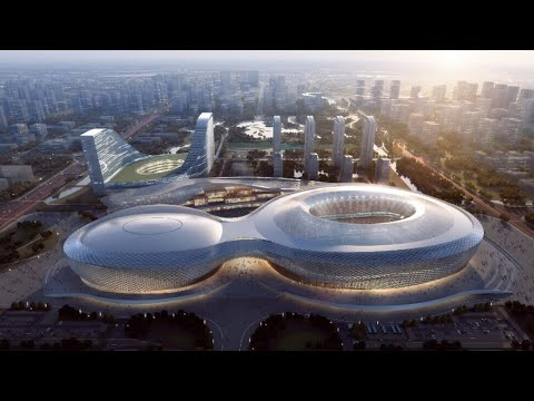 China Has Developed the Sports Complex of the Future!