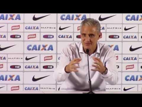 Tite comenta sobre as próximas etapas do Corinthians