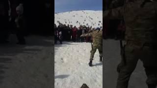 Asker Kolbasti Oynarken..kahraman Maras Ahir Dagindan
