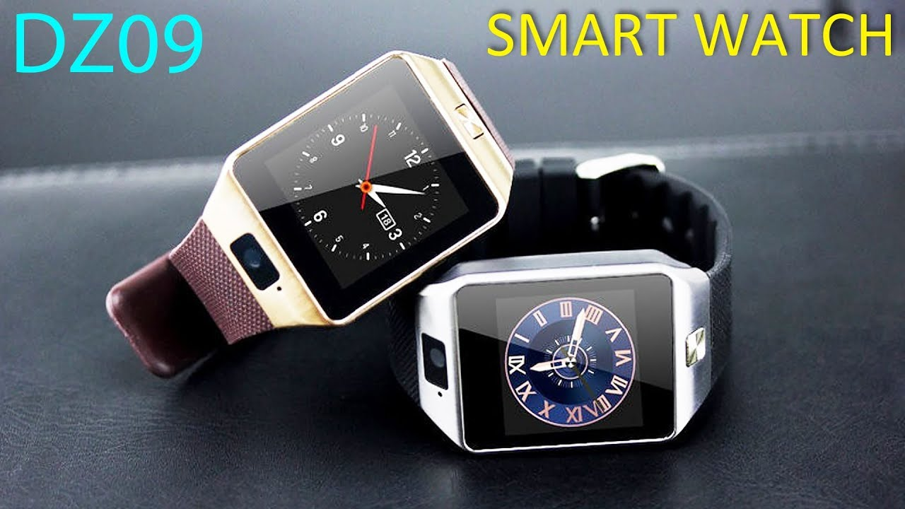 Видео Smart Watch DZ09