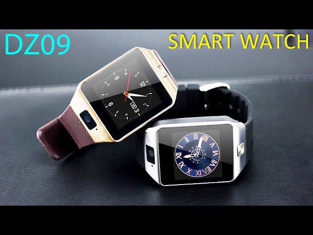 Видео Smart Watch DZ09