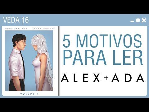 5 MOTIVOS PARA LER ALEX ADA #16