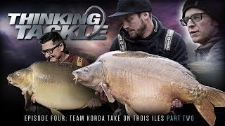 Thinking Tackle Online Episode 4 Part 2   Danny Fairbrass And Team Korda | Carp Fishing 2018