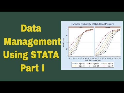 Data Management Using Stata Part I