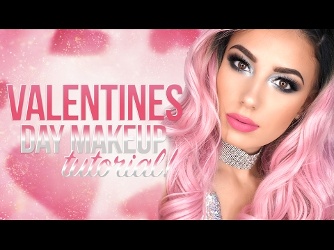 Valentines Day Smokey Silver Eye Maybelline Products Victoria Lyn Beauty
