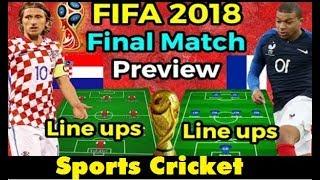 FIFA World Cup Final 2018   FIFA World Cup 2018 Final Match Preview ,Lineups,venue