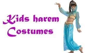 Kids Harem and Belly Dancer Costumes
