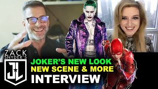 Zack Snyder Interview - New Look for Joker, Snyder Cut 2021 New Scenes by Beyond The Trailer