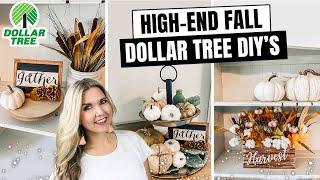 HIGH END DOLLAR TREE FALL DECOR 🍂 2020 DIY