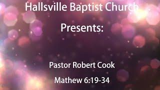Sermon, Matthew 6:19-34