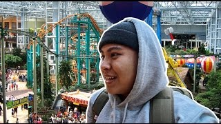 WE VISITED THE BIGGEST MALL IN AMERICA!!! (THEME PARK INSIDE)