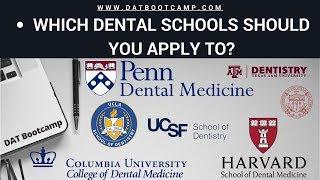 How To Make A Dental School List