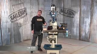 Baileigh Industrial VM-836E Vertical Mill