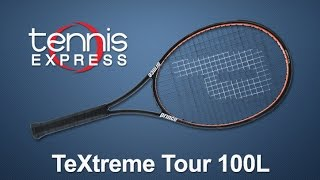 Ρακέτα τέννις Prince Textreme Tour 100L video