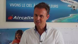 """Jean David Rolland, chef PNC Aircalin : """"L'ESSEC a considérablement changé mon parcours pro"""