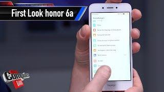 Honor 6A: Einsteiger-Android im ersten Check