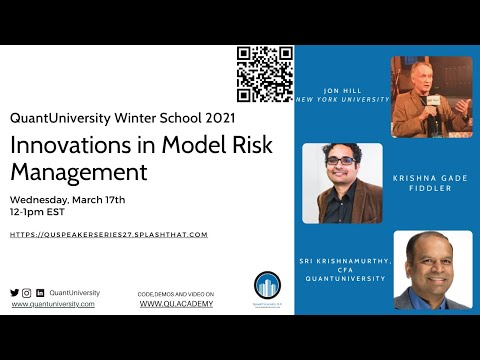 Innovations in Model Risk Management Lecture