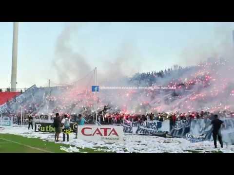 """""""LOS CAUDILLOS DEL PARQUE VS HURACAN LAS HERAS - INDEPENDIENTE RIVADAVIA"""" Barra: Los Caudillos del Parque • Club: Independiente Rivadavia"""