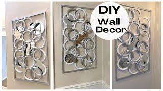 Elegant Wall Decor Using DOLLAR TREE Mirrors ~ D.I.Y. Home Decor Part 2
