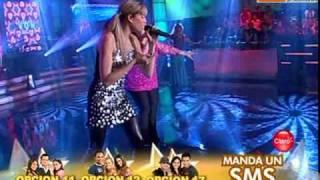 Canto Balada: Anna Carina y Gabriela Noriega (Reyes del Show PERU 12-12-09)