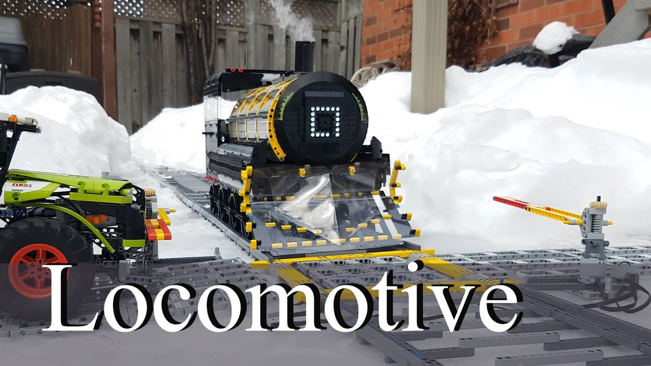 Locomotive - Lego Technic MOC