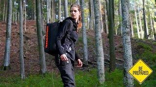 Sei vorbereitet!⚠️24 Std Test - Flucht Szenario - Der Rino Fluchtrucksack - Serie für den Ernstfall