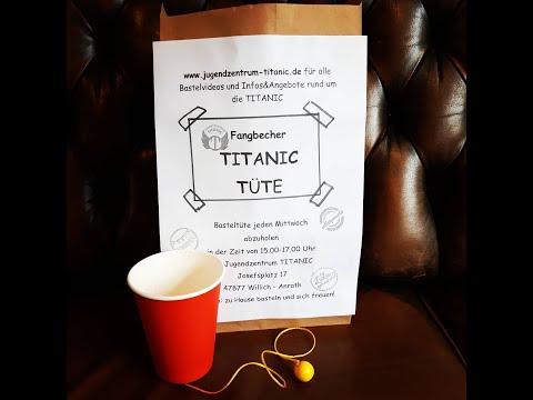 TITANIC Fangbecher-Spiel