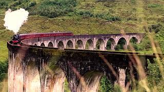Hogwarts Express in Glenfinnan