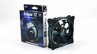 AeroCool Eclipse 12cm Computer Fan | Краткий обзор