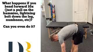 Back Pain and Sciatica Self Assessment in 1 Minute