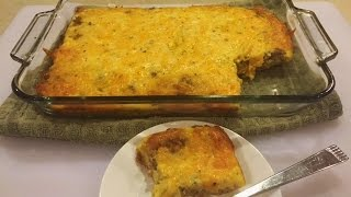 Sausage, Egg and Cheese Breakfast Casserole - Quick and Easy