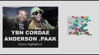 YBN Cordae & Anderson .Paak On RNP   Lyrics, Rhymes Highlighted (112)