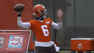 Highlights from Day 1 of Browns training camp