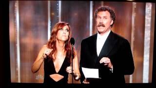Kristen Wiig and Will Ferrell - Golden Globes 2013