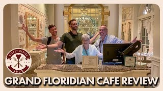 Grand Floridian Cafe Dinner Review | Disney Dining Show | 05/10/19