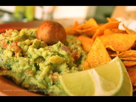 Cómo hacer guacamole casero