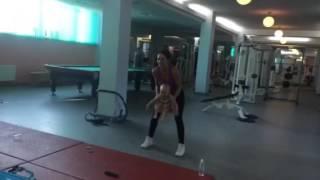 Фитнес мама и малыш