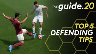 Top 5 Tips to DEFEND in FIFA 20 | How to improve your defense | FIFA 20 Tutorial