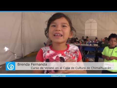 Cursos de verano en la casa de cultura en Chimalhuacán