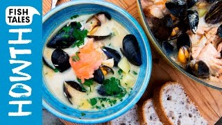 Irish SEAFOOD CHOWDER | Bart's Fish Tales & Donal Skehan by Bart's Fish Tales