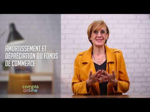Amortissement et dépréciation du fonds de commerce