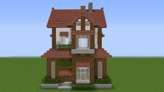 Minecraft How To Build A Suburban House Tutorial 3 Minecraftvideos Tv