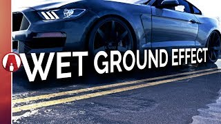 How to create a WET GROUND SURFACE | Vray 3.6 for Sketchup