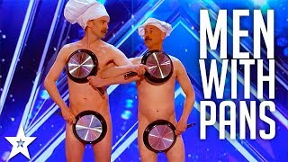 Men with Pans SHOCK the Audience